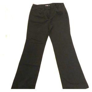 New York & Co. TALL black boot cut slacks